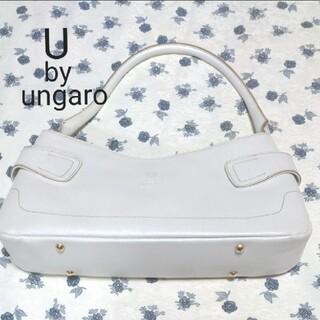 ユーバイウンガロ(U by ungaro)のU by ungaro ハンドバッグ ホワイト(ハンドバッグ)