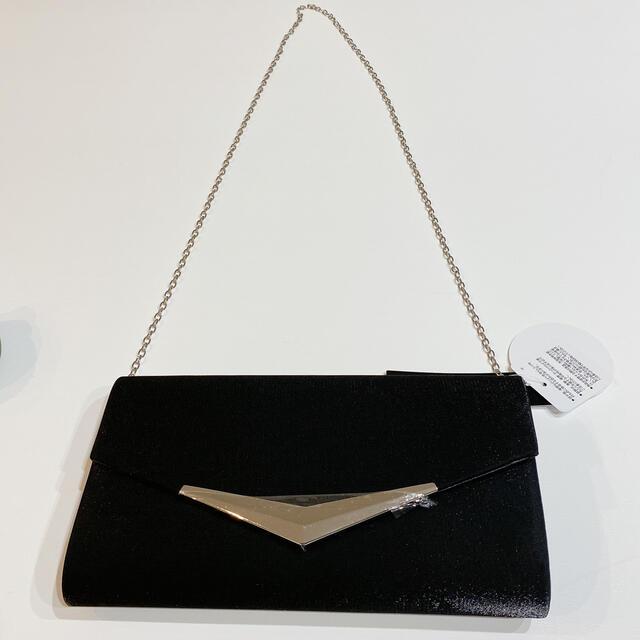 シンプル 大人気 チェーン付き クラッチバッグ ショルダーバッグ 入学式 卒業式 レディースのバッグ(クラッチバッグ)の商品写真