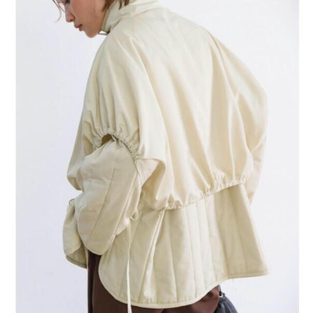 Kastane(カスタネ)のselectmoca レイヤードキルティングジャケット レディースのジャケット/アウター(ダウンジャケット)の商品写真