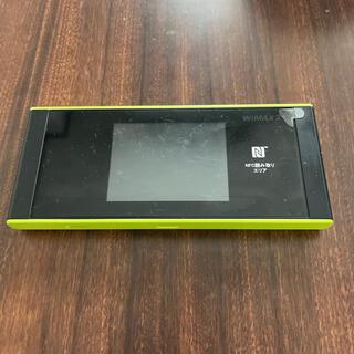 HUAWEI - WiMAX2+ w05 モバイルルーター
