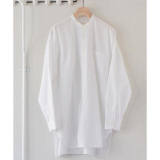 COMOLI - コモリ バンドカラーシャツ