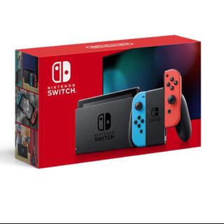 Nintendo Switch - 新品未開封★Switch 任天堂スイッチ 本体 ネオンブルーレッド ニンテンドウ