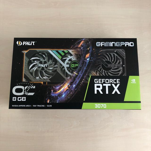 Palit Geforce RTX3070 gamingPro OC スマホ/家電/カメラのPC/タブレット(PCパーツ)の商品写真