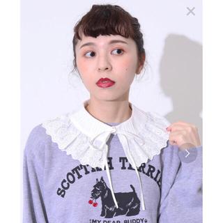 Dot&Stripes CHILDWOMAN - ブロードレースピンタックつけ衿