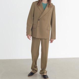 COMOLI - auralee 21ss wool max gabardine slacks