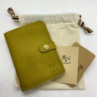 IL BISONTE - 【新品未使用】  イルビゾンテ 手帳型 二つ折り財布 CURRY カリーイエロー