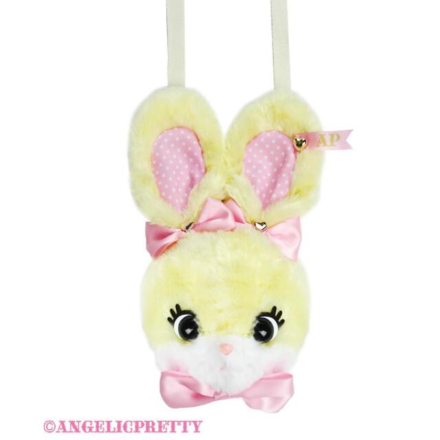 Angelic Pretty(アンジェリックプリティー)のリリカルバニーフェイスポーチ レディースのバッグ(ショルダーバッグ)の商品写真