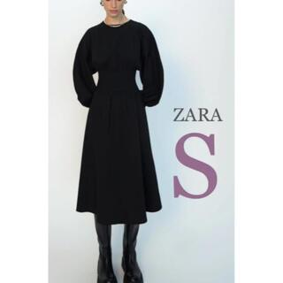 ZARA - 【新品・未使用】ZARA ストレッチ ワンピース  S