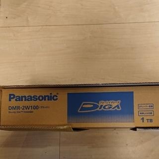 Panasonic - 新品 パナソニック ブルーレイディスクレコーダー DIGA DMR-2W100