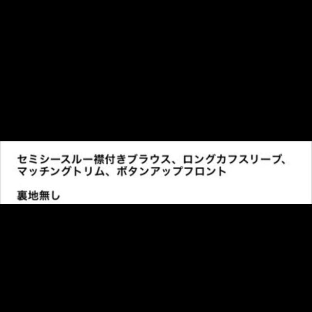 ZARA(ザラ)の【新品・未使用】ZARA オーガンザ ブラウス XS レディースのトップス(シャツ/ブラウス(長袖/七分))の商品写真