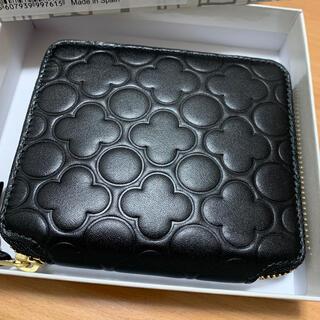 COMME des GARCONS - コムデギャルソン SA210EB 二つ折り財布 EMBOSS ブラック