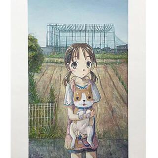 くらやえみ 新作「おさげ」版画サイン入り カイカイキキ第2弾! 即日発送(版画)