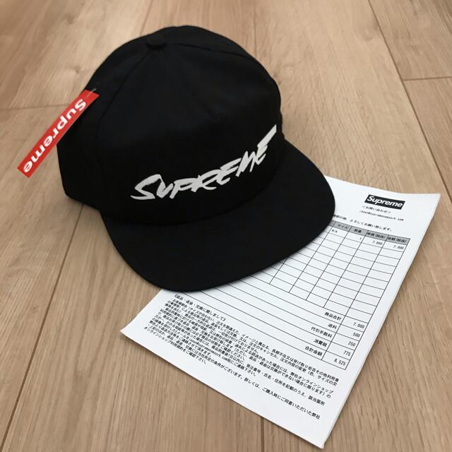 Supreme(シュプリーム)のfutura logo 5-panel supreme シュプリーム cap 黒 メンズの帽子(キャップ)の商品写真