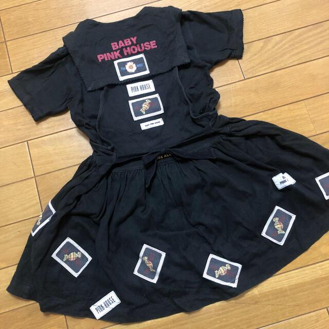 PINK HOUSE(ピンクハウス)のベビーピンクハウス セット S キッズ/ベビー/マタニティのキッズ服女の子用(90cm~)(その他)の商品写真