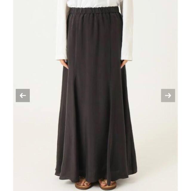 FRAMeWORK(フレームワーク)のFRAMeWORK キュプラマーメイドスカート レディースのスカート(ロングスカート)の商品写真
