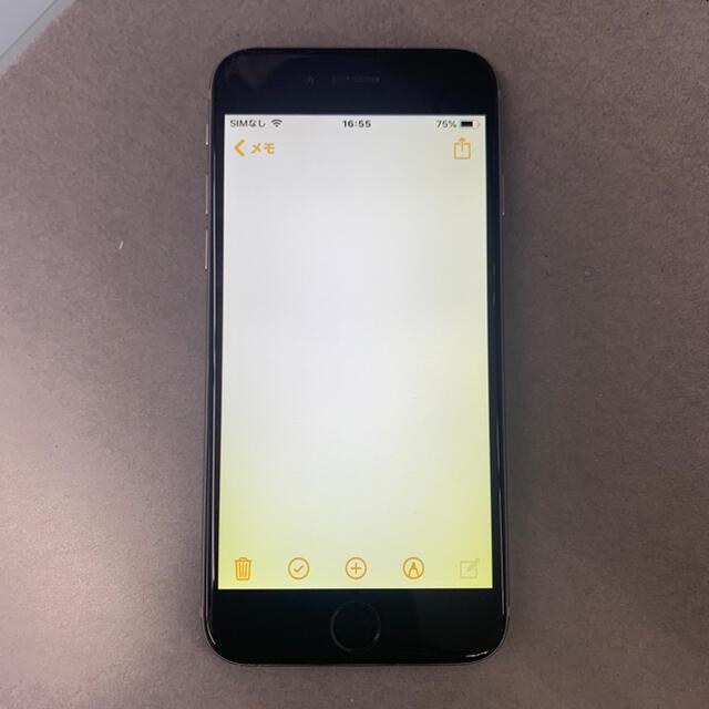 Apple(アップル)のiPhone6 64GB docomo スマホ/家電/カメラのスマートフォン/携帯電話(スマートフォン本体)の商品写真