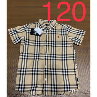 POLO RALPH LAUREN - バースデイ ポロ チェックシャツ 120