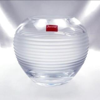 バカラ(Baccarat)のバカラ クリスタル Baccarat ボール 丸 花瓶 17cm 箱 未使用(花瓶)