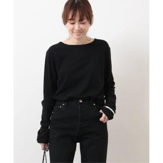DEUXIEME CLASSE - 新品・未開封 Skew Tシャツ ブラック Deuxieme Classe