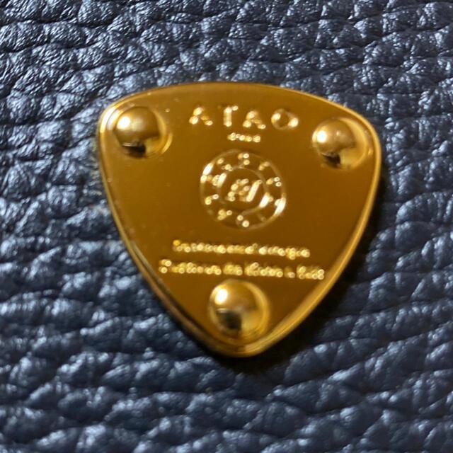 ATAO(アタオ)のATAO ワルツケリー ネイビー 美品💙 レディースのファッション小物(財布)の商品写真