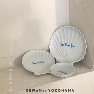 シールームリン(SeaRoomlynn)のシェルプレート3枚セット(食器)