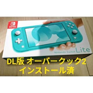Nintendo Switch - Nintendo SWITCH LITE 本体  DL版 オーバークック2 付