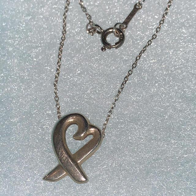 Tiffany & Co.(ティファニー)のティファニー ラビングハート ネックレス レディースのアクセサリー(ネックレス)の商品写真