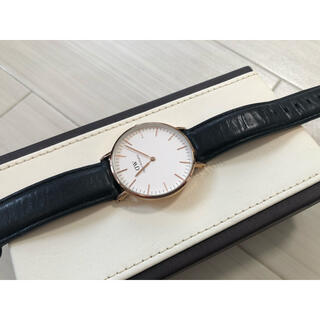 ダニエルウェリントン(Daniel Wellington)のdanielwellington 腕時計(レザーベルト)