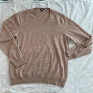 UNIQLO - ユニクロ カシミヤvネックニット セーター メンズ