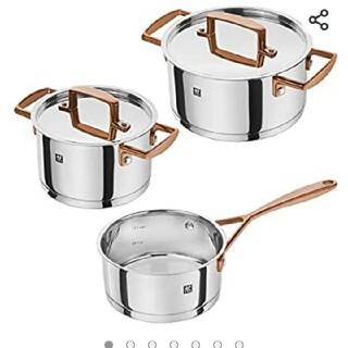 ツヴィリングジェイエーヘンケルス(Zwilling J.A. Henckels)の新品2.5万 Zwilling ツヴィリング 鍋セット(鍋/フライパン)