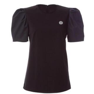 ボーダーズアットバルコニー パフスリーブティシャツ 36