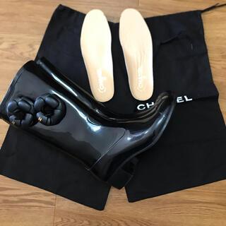 シャネル(CHANEL)のかい様専用CHANEL レインブーツ(レインブーツ/長靴)