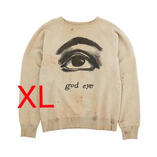 saint michael god eye sweat スウェット XL