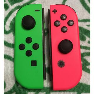 ニンテンドースイッチ(Nintendo Switch)の任天堂Switch ジョイコン 左右セット(家庭用ゲーム機本体)