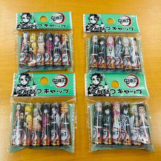 BANDAI - 鬼滅の刃 鉛筆キャップ 24本 新品 文房具 えんぴつキャップ 煉獄杏寿郎