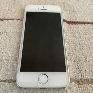 アイフォーン(iPhone)のiPhone 5s Silver 32 GB Softbank(スマートフォン本体)