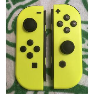 Nintendo Switch - 任天堂Switch ジョイコン ネオンイエロー 左右セット2