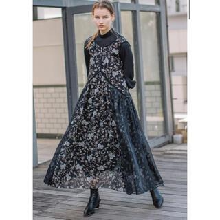 アウラアイラ(AULA AILA)の【AULA AILA×yukko】フラワーペーズリーセットドレス(ロングスカート)