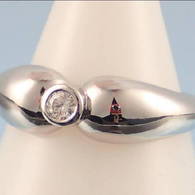 Tiffany & Co.(ティファニー)の【bmw様専用】ティファニー  プラチナ タァドロップ レディースのアクセサリー(リング(指輪))の商品写真