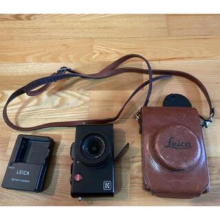 ライカ(LEICA)の値下げします!ライカ D-Lux5 デジタルカメラ 充電器 純正本革ケース付き(コンパクトデジタルカメラ)