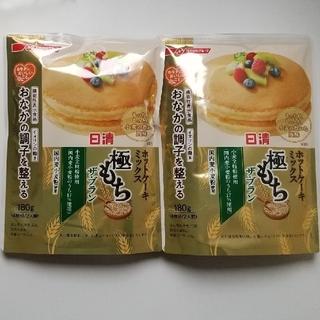 ニッシンセイフン(日清製粉)の日清製粉 極もち ホットケーキミックス ザ・ブラン 180g×2袋(菓子/デザート)