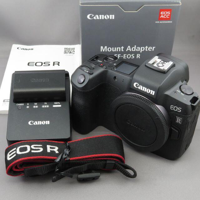 Canon(キヤノン)のキヤノン EOS Rボディ EF-EOSRマウントアダプターセット スマホ/家電/カメラのカメラ(ミラーレス一眼)の商品写真
