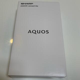 SHARP - 【新品】 AQUOS sense4 lite ブラック
