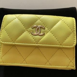 CHANEL - 最値下げ!正規品 CHANEL マトラッセミニ財布