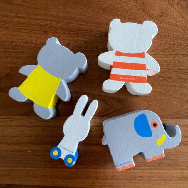BorneLund(ボーネルンド)のこぐまちゃん 積み木 キッズ/ベビー/マタニティのおもちゃ(積み木/ブロック)の商品写真