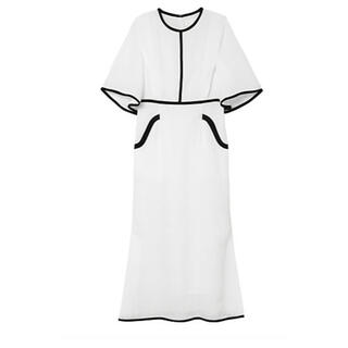 mame - mame Tulip Motif Jacquard Dress