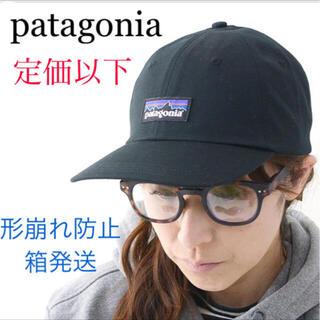 パタゴニア(patagonia)のパタゴニア P-6トラッドキャップ 新品未使用品 Black(キャップ)