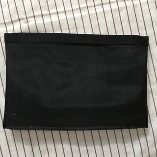 ムジルシリョウヒン(MUJI (無印良品))のナイロンメッシュバッグインバッグ B5サイズ用・黒(その他)