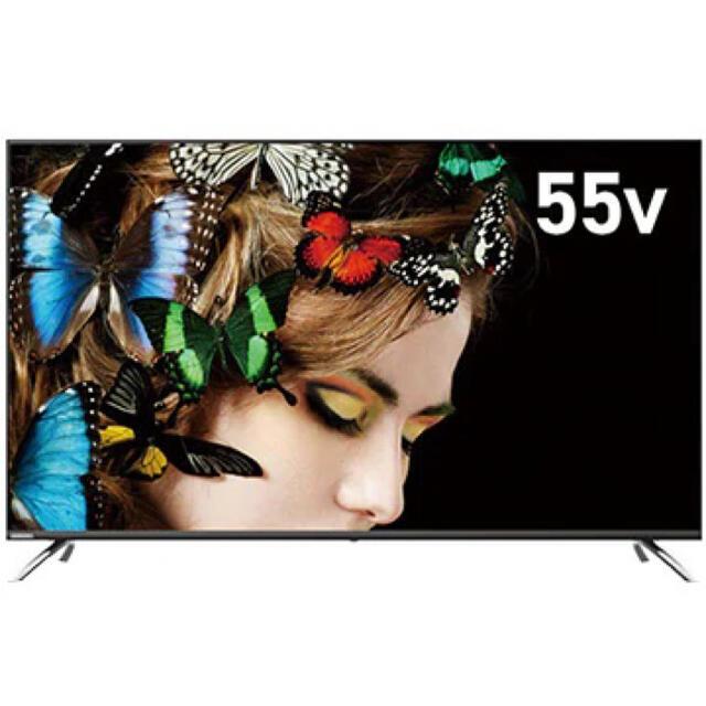 ORION 55V型4K液晶TV BS/CS4Kチューナー内蔵OL55XD100 スマホ/家電/カメラのテレビ/映像機器(テレビ)の商品写真
