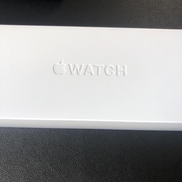 Apple Watch(アップルウォッチ)の 【新品未開封】Apple Watch 6 GPS 44mm スペースグレイ メンズの時計(腕時計(デジタル))の商品写真